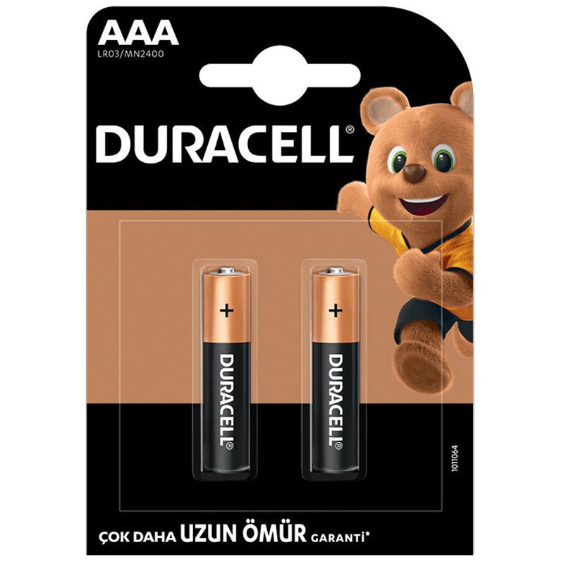 Duracell AAA 2'li Ýnce Kalem Pil