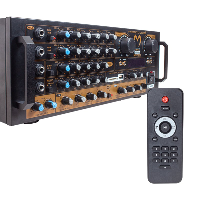 Magicvoice MV-1232 2x80 Watt USB-SD-Bluetooth Balans Trafosuz Anfi