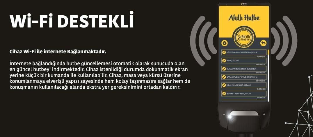 Wifi Destekli Akıllı Hutbe Mikrofonu