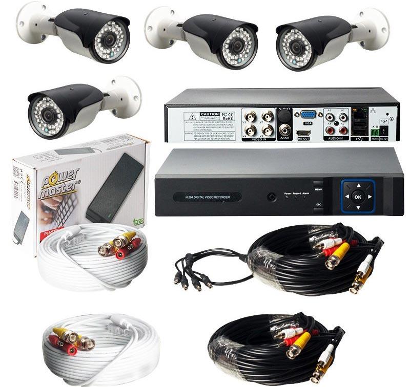 Armi Cctv Güvenlik Kamerası Dörtlü Hazır Kamera Seti 100314