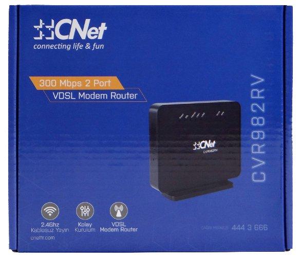 CNET CVR982RV ADSL Modem