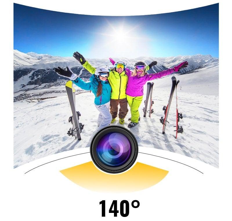 Hello Suya Dayanıklı 1080P Aksiyon Kamera