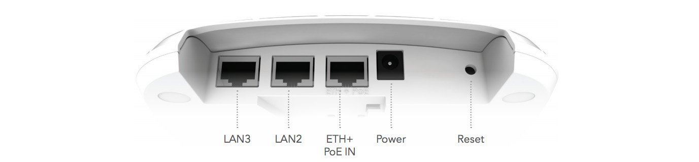 LIGOWAVE NFT 1N INFINITY ÝÇ ORTAM ACCESS POINT 2.4 GHZ 300 MBPS PORTLAR