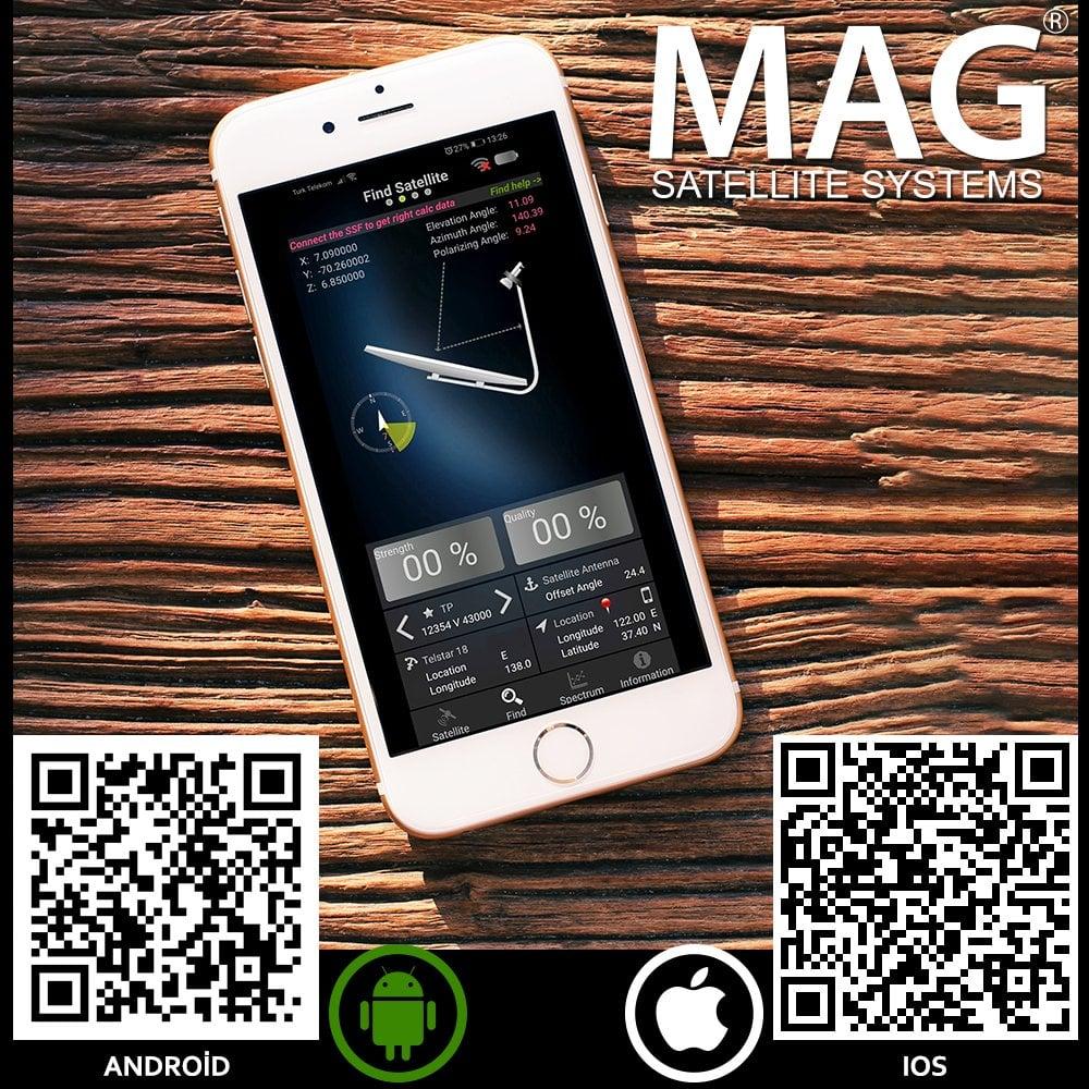 Mag Akıllı Telefon Uyumlu Uydu Bulucu