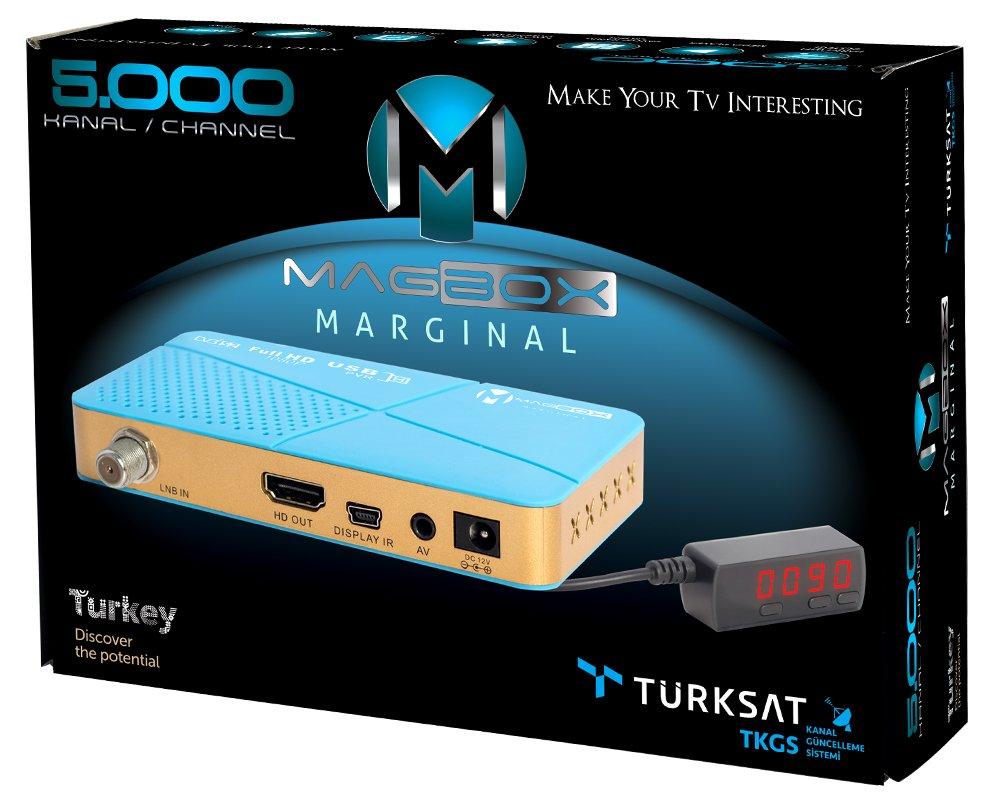 Magbox marginal full hd uydu alıcısı