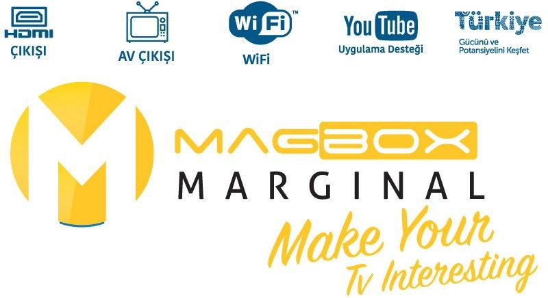 Magbox Marginal Mini Full HD Uydu Alıcısı