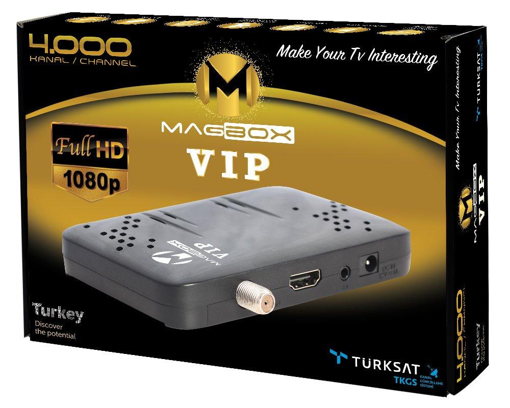 Magbox Vip full hd uydu alıcısı