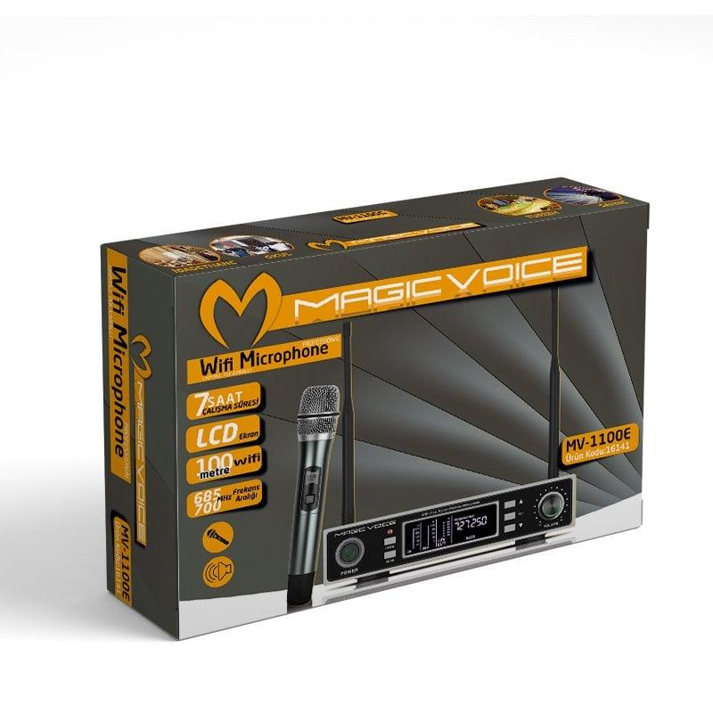MagicVoice MV-1100E Telsiz Mikrofon