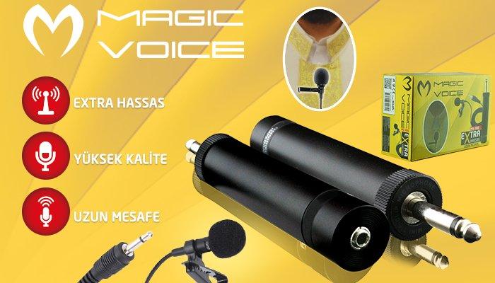 MagicVoice MV-380 Hassas Yaka Mikrofonu