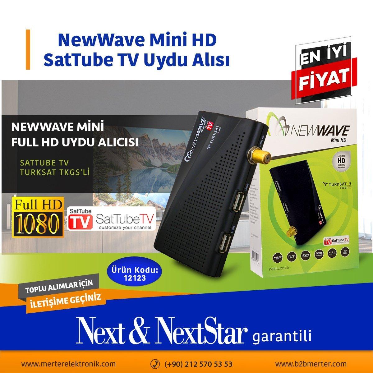 NewWave Mini HD SatTube TV Uydu ALıcısı