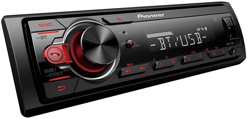 Pioneer MVH-S325BT USB-FM-AUX-Bluetooth 4x50 W Mekaniksiz Oto Teyp