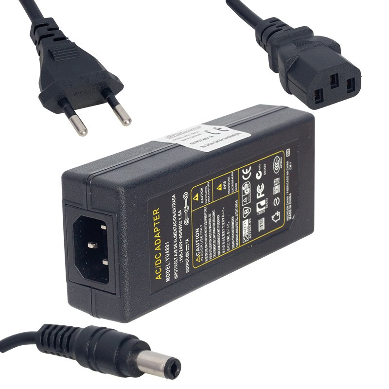 Powermaster 48 Volt 1 Amper Nvr Kayıt Cihazı Adaptörü