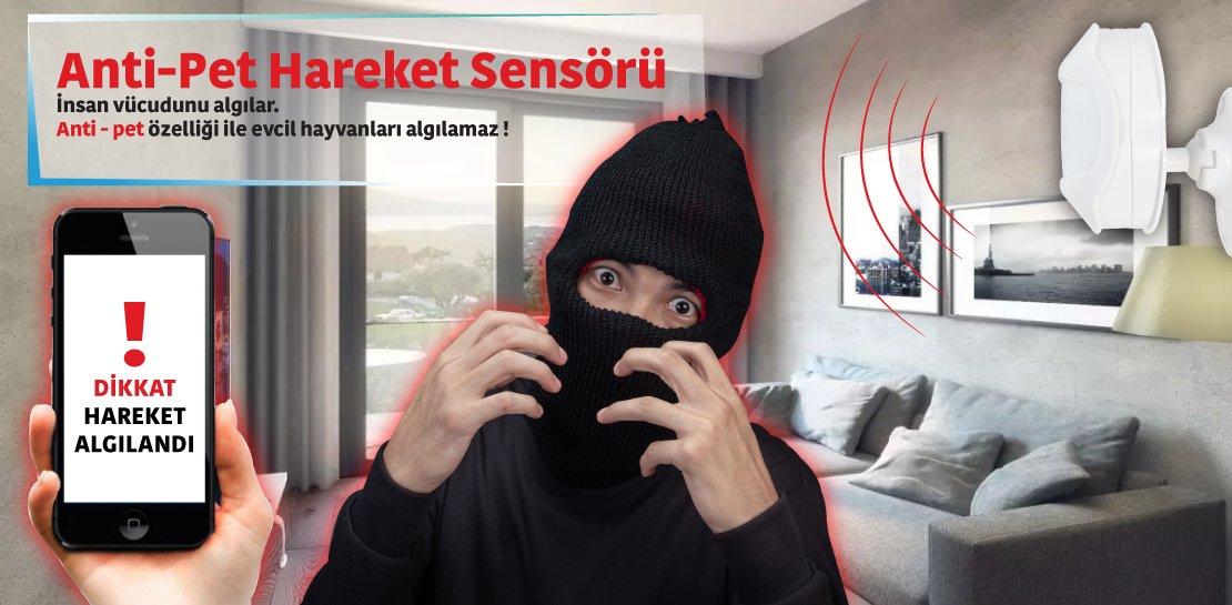 Powermaster Wifi Kameralı Akıllı Ev Otomasyon ve Güvenlik Kiti