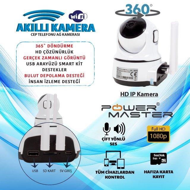 Powermaster Akıllı Home Ev Otomasyon ve Güvenlik Kiti