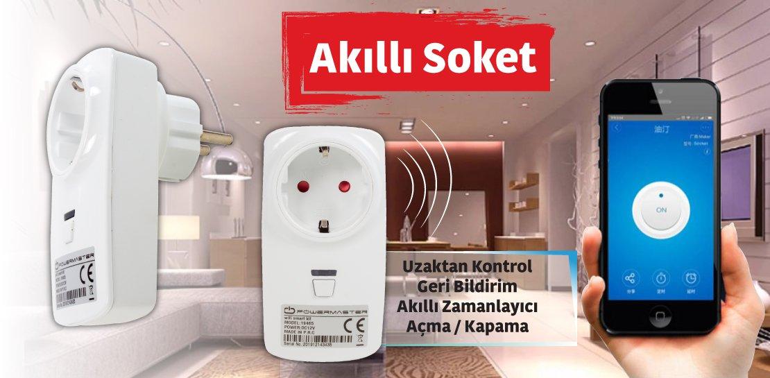 Powermaster Kameralı Smart Akıllı Ev Otomasyon ve Güvenlik Kiti