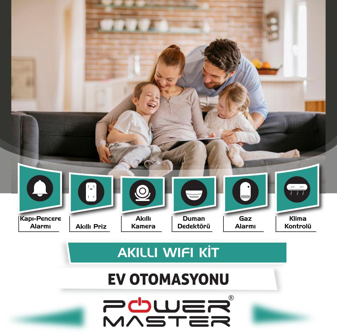Powermaster Akıllı Ev Otomasyon ve Güvenlik Kiti