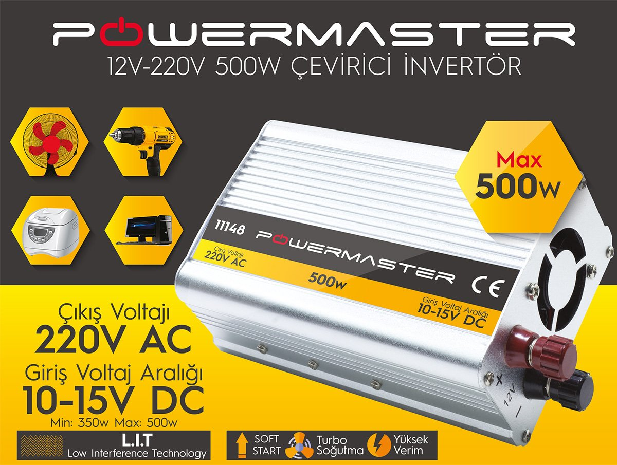 Powermaster PM-11149 İnvertör