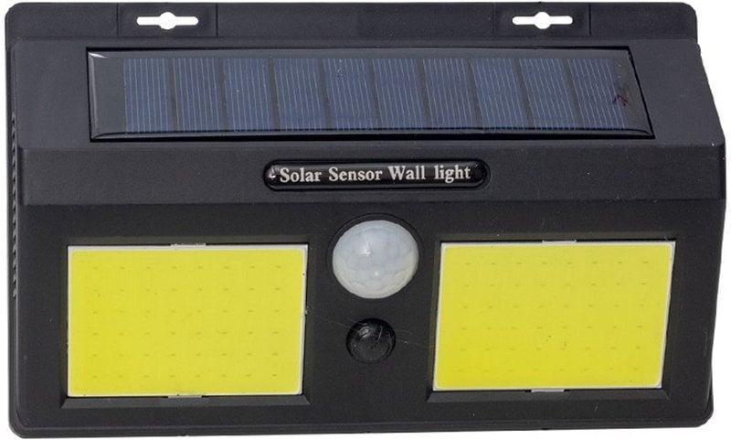 Starmax SM-8012 Sensörlü Çiftli Solar Cob Led Duvar Tipi Apli