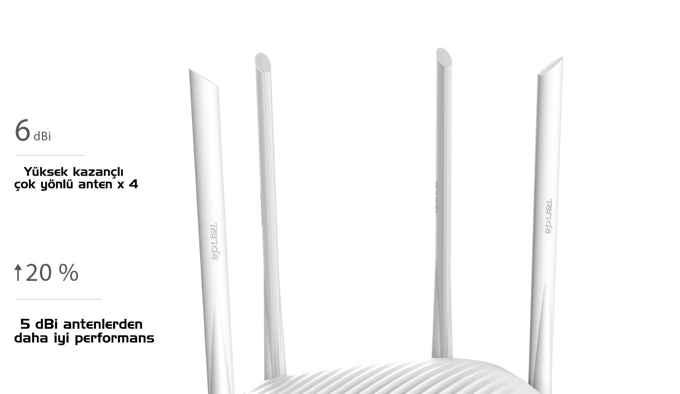 Tenda F9 600 Mbps 4 portlu router