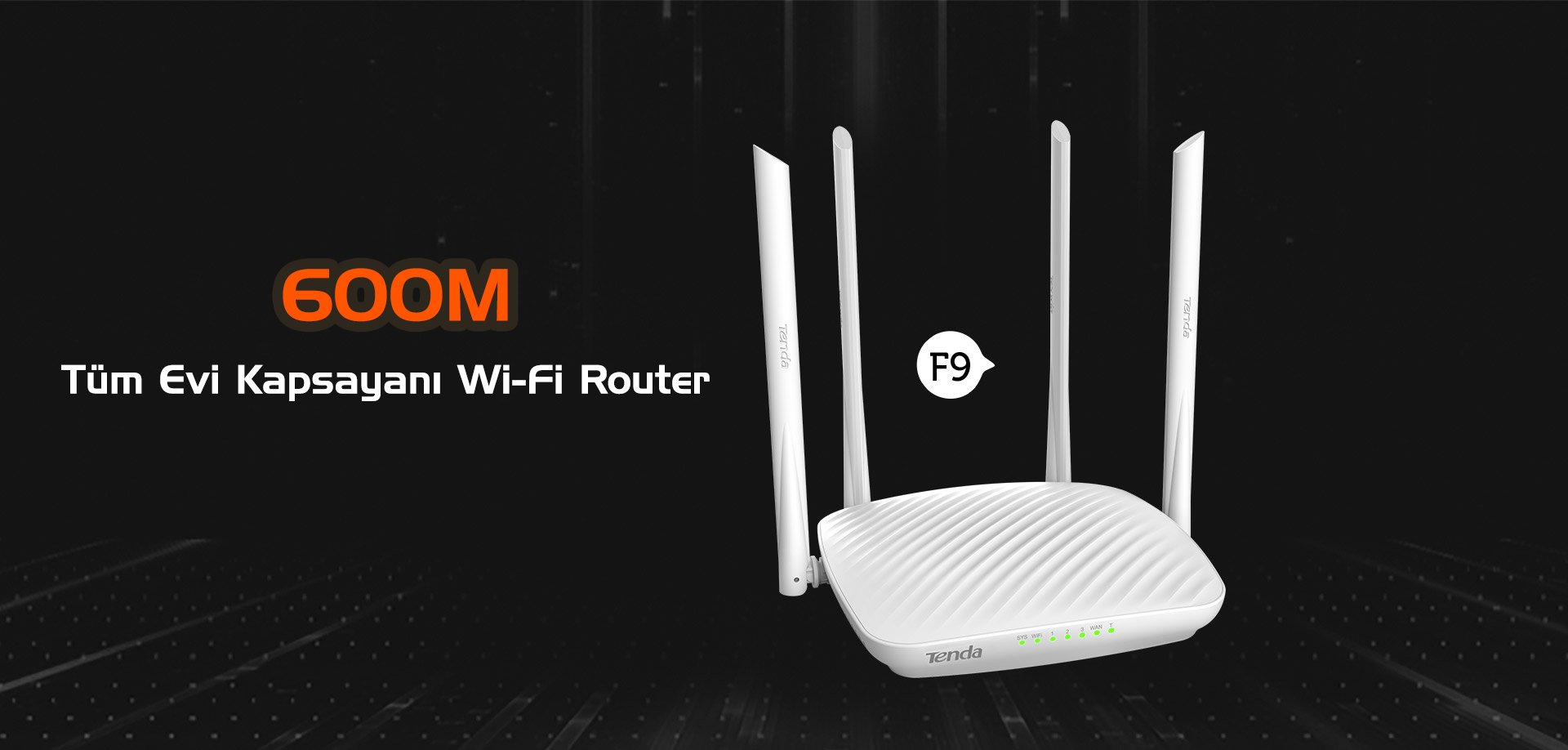 Tenda F9 600 Mbps Access Point - Router