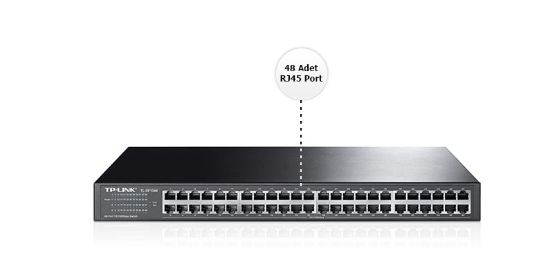 Tp-Link TL-SF1048 48 Port 10/100 Switch Özellikleri