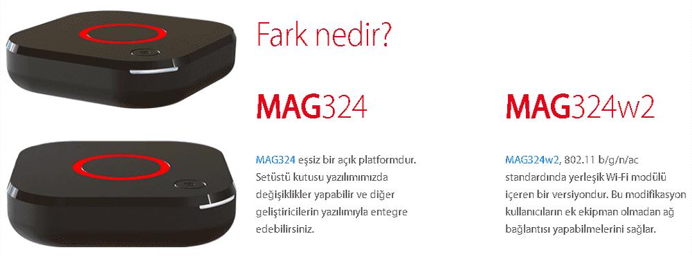 Mag 324W2 Farkları
