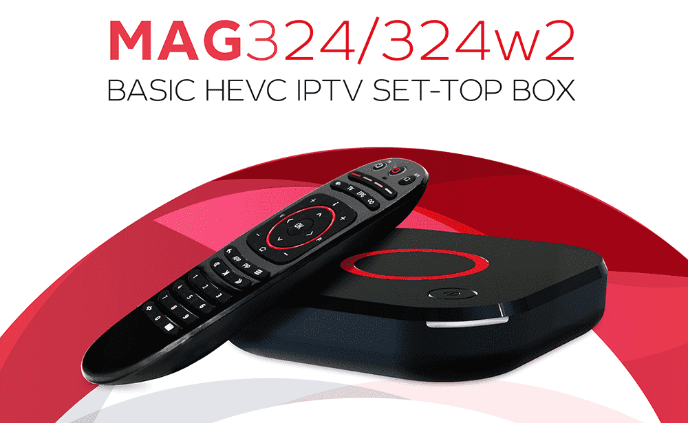 Mag 324W2 STB IpTV Box