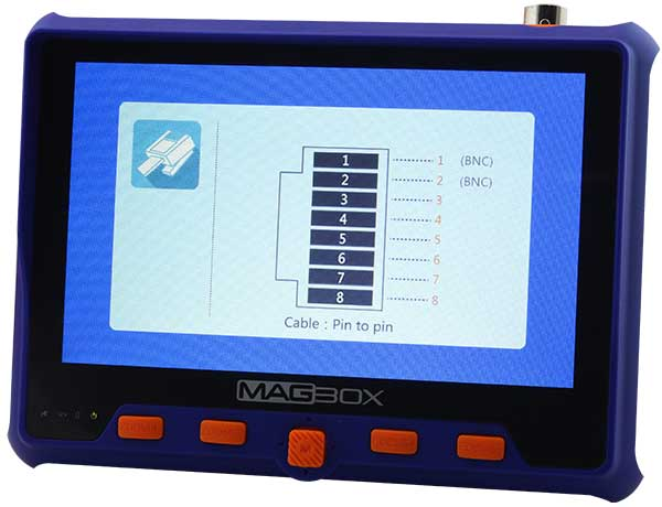Magbox AHD-TVI-CVI-Analog El Tipi Kamera Test Cihazı