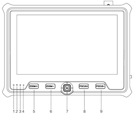Magbox AHD-TVI-CVI-Analog-HDMI El Tipi Kamera Test Cihazı