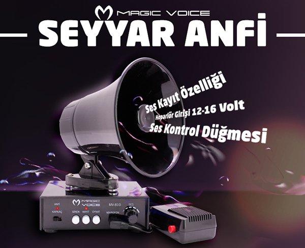 Magicvoice MV-800 Pazarcı Anfi Seti